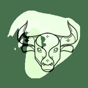 Εικονογράφηση του ζωδίου του Ταύρου από το mystik.gr