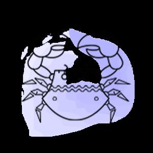 Εικονογράφηση του ζωδίου του Καρκίνου από το mystik.gr