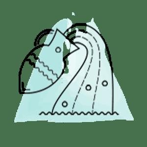 Εικονογράφηση του ζωδίου του Υδροχόου από το mystik.gr